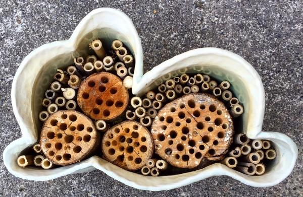 MAson Bee House By Deb Schwartzkopf