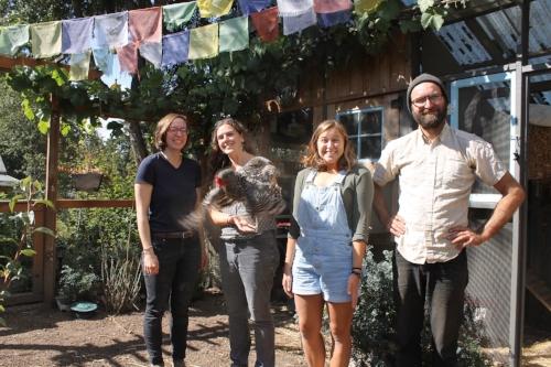 Vanessa Norris, Deb Schwartzkopf, canne Holladay, & Rickie Barnett