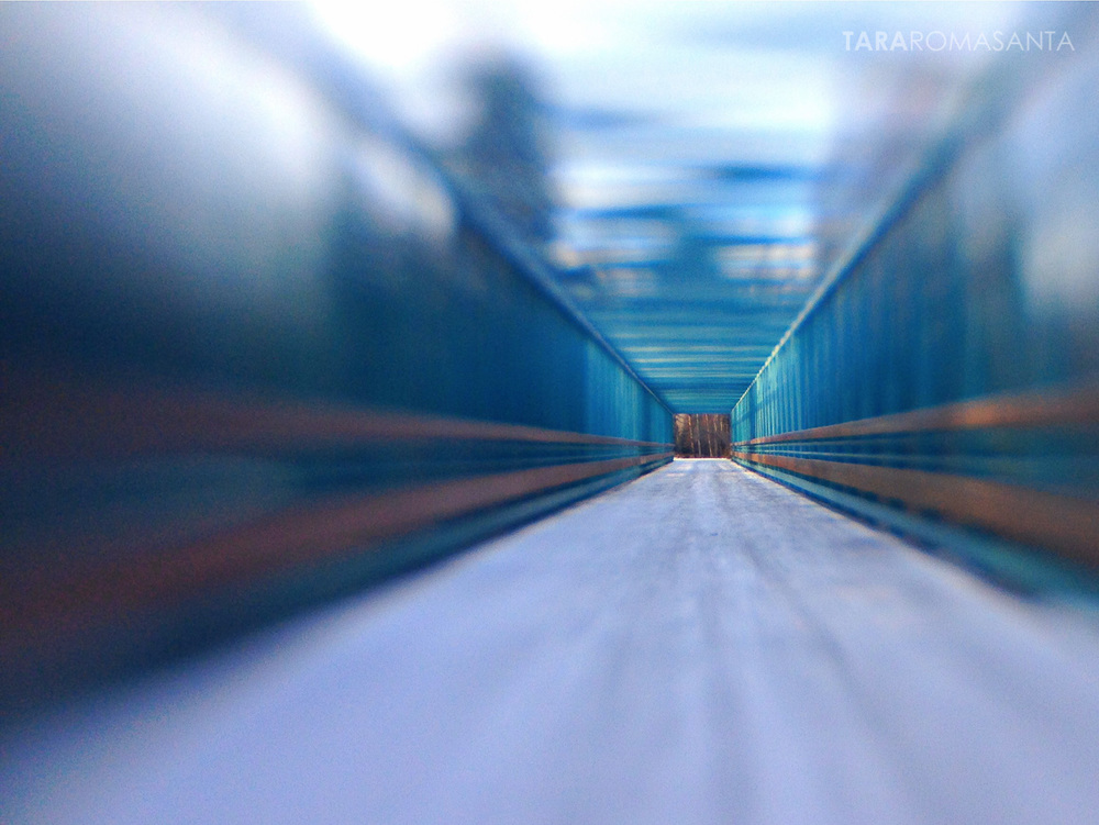 Campbell Creek Bridge in Anchorage, shot withiPhone5 and Lensbaby mobile lens for a Shutter Sisters-Lensbaby collaboration on Instagram.