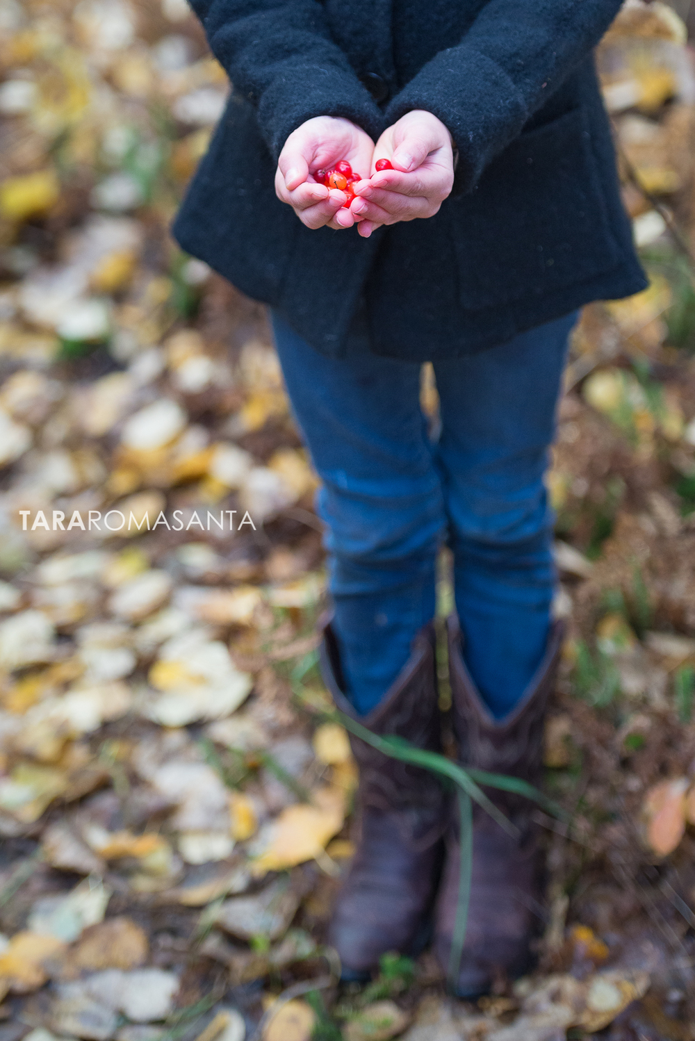 young_girl_in_cowgirl_boots_holding_wild_berries_by_lifestyle_photographer_tara_romasanta