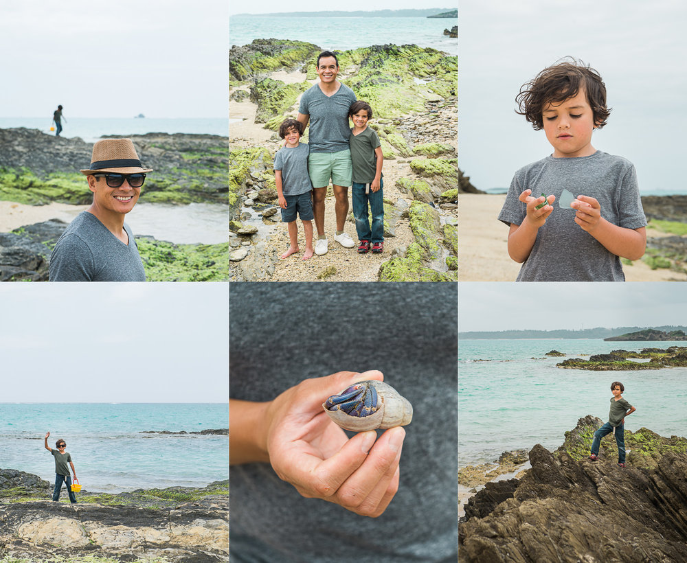 sea glass beach okinawa romasanta