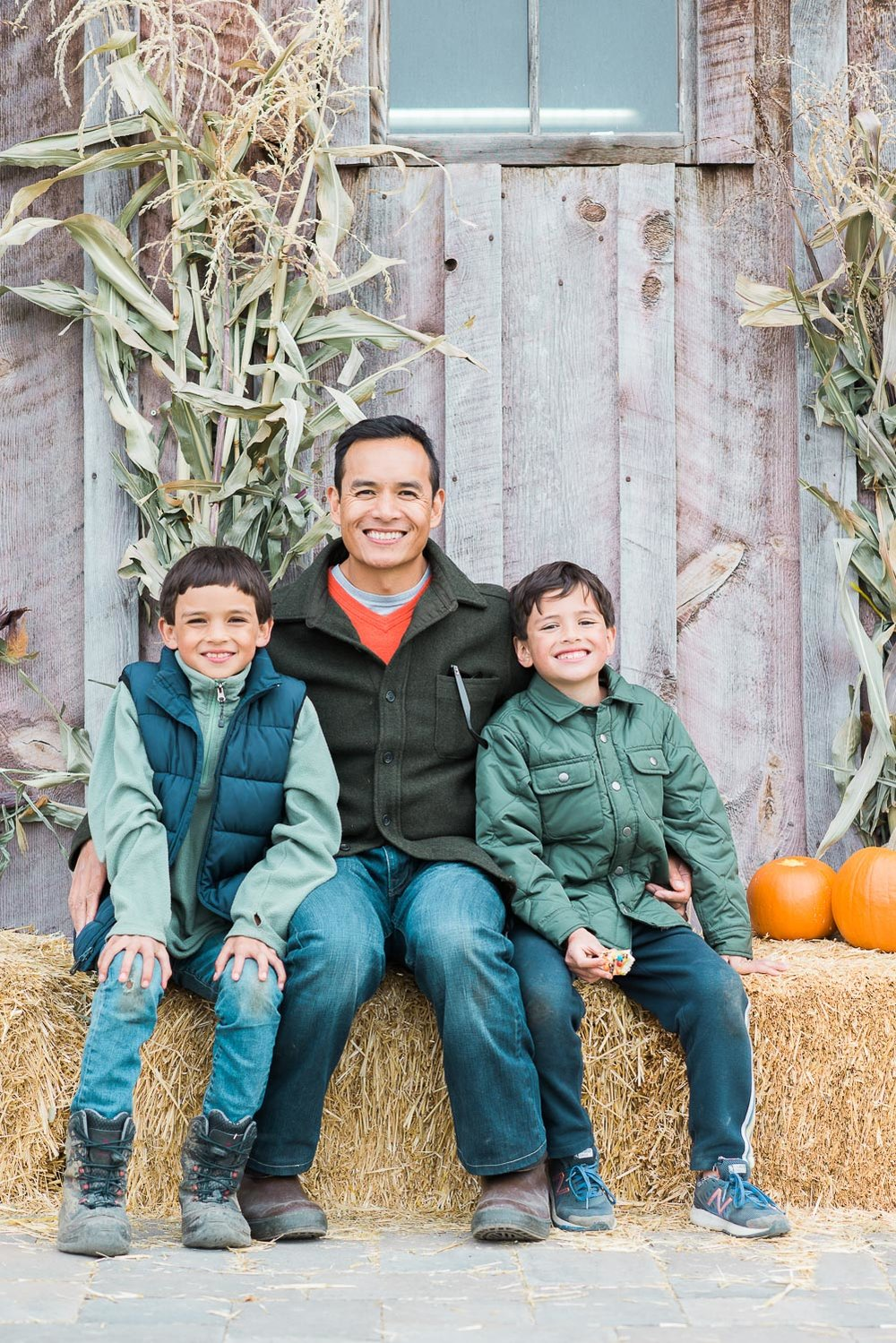 my guys at the pumpkin patch
