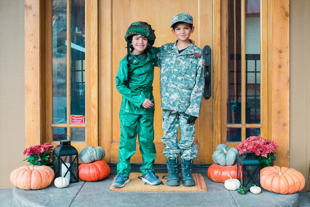 military theme halloween