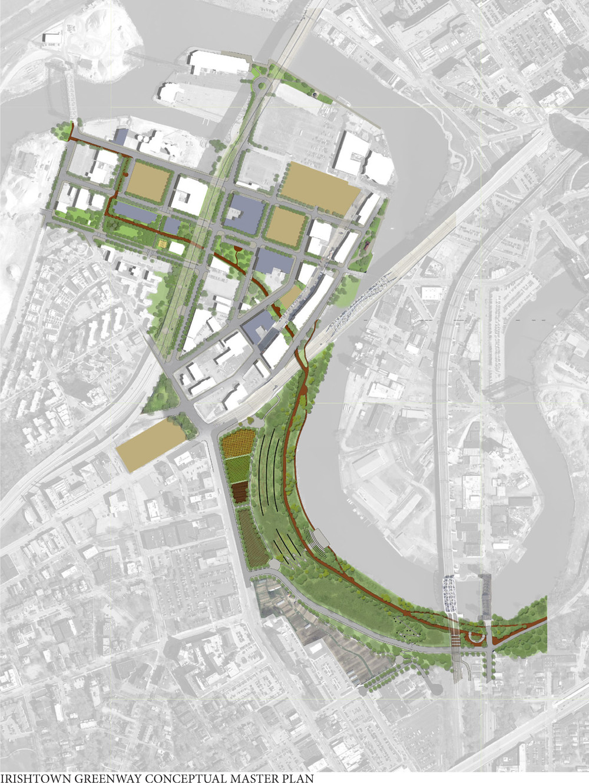 Irishtown Greenway Conceptual Master Plan