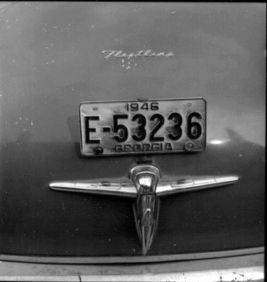 Georgia License Plate, Opry Series 1946