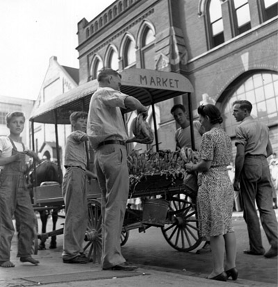 Fruit Cart (Close Up), Opry Series 1946