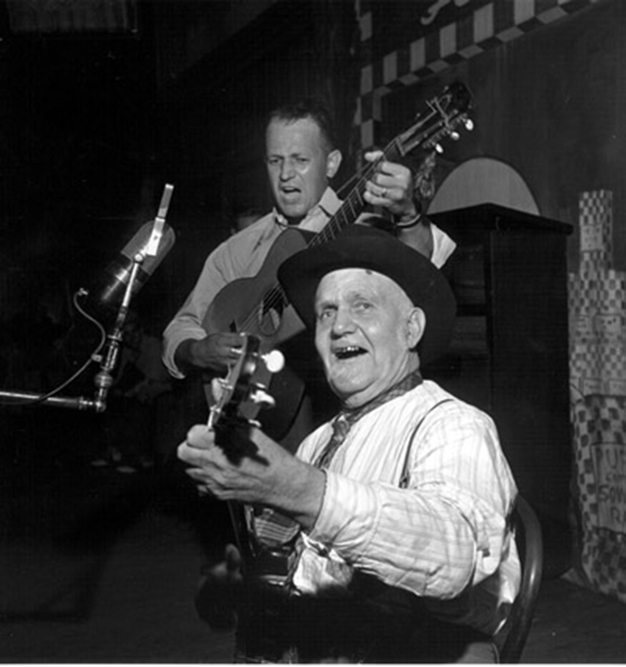 Uncle Dave Macon and Son Dorris, Opry 1946