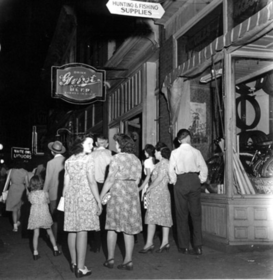 In Line on Broadway, Opry Series 1946