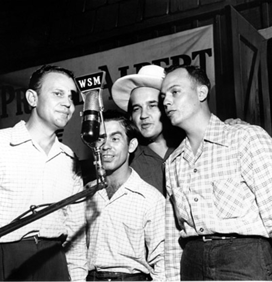 Precursors to the Folk Ridge Boys, Opry Series 1946