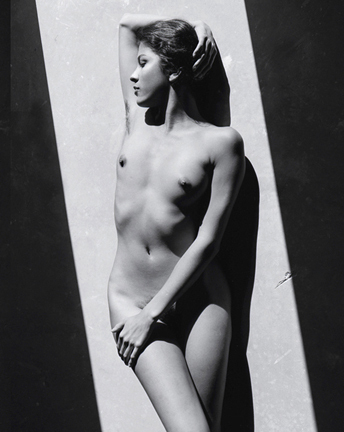 Nude with Hand on Head, 1990's