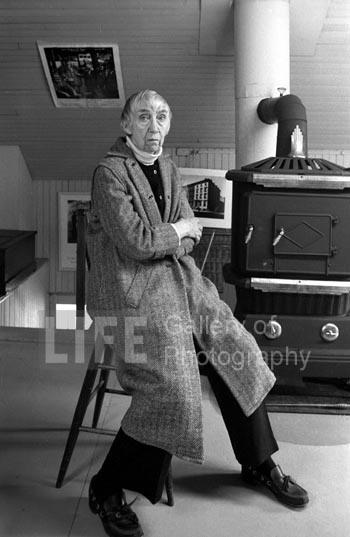 Berenice Abbott, Abbot, Maine, 1981
