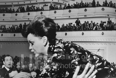 Judy Garland, Carnegie Hall, NYC, 1961