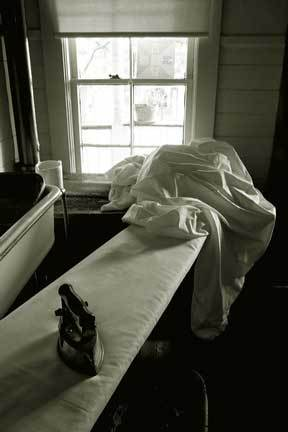 Thomas Wolfe Home, Ironing Board