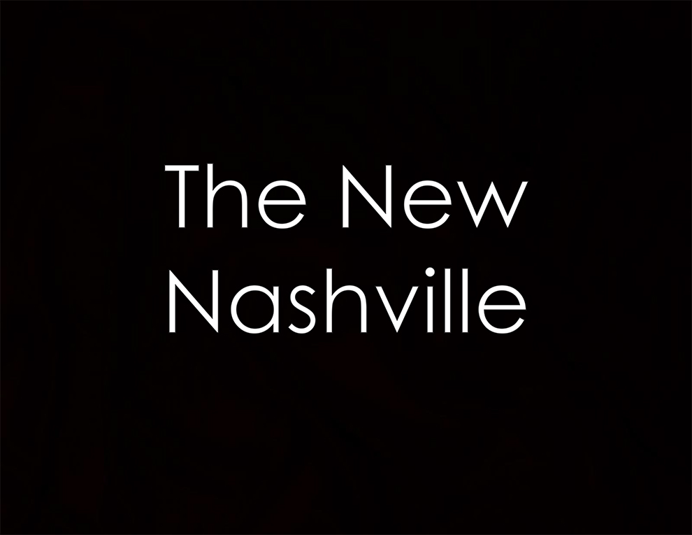 The New Nashville Slide