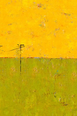 Landscape Yellow and Green (Utility Poles)