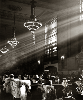 Grand Central Waiting Room, 1950s