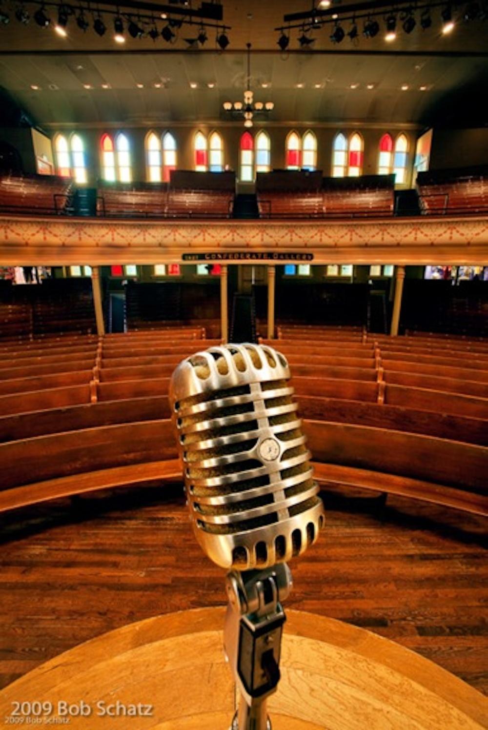 Schatz_Microphone at Ryman 30x20in.jpg