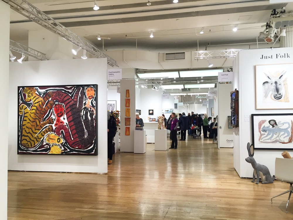 Our Insider Review Of The Outsider Art Fair 2016 The Arts Company