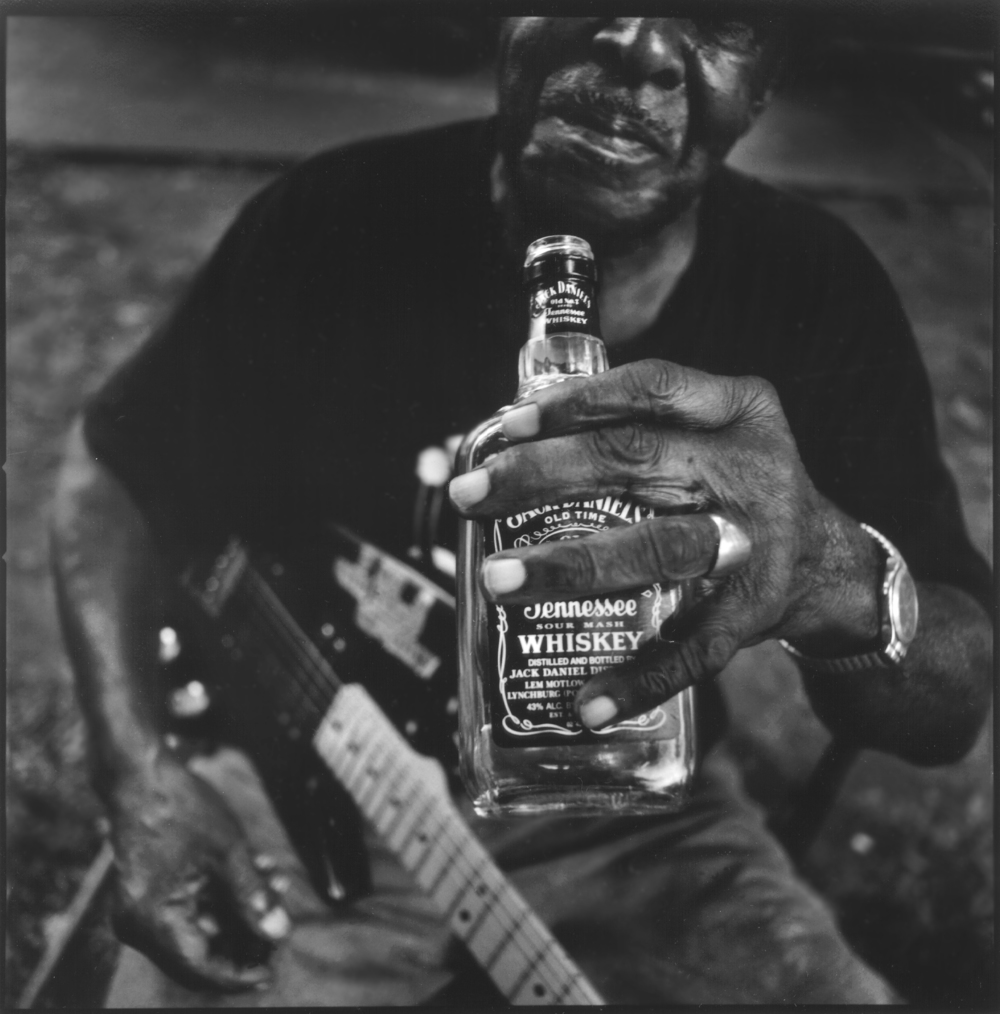 T Model Ford and Jack Daniels, Greenville, MS, 2001