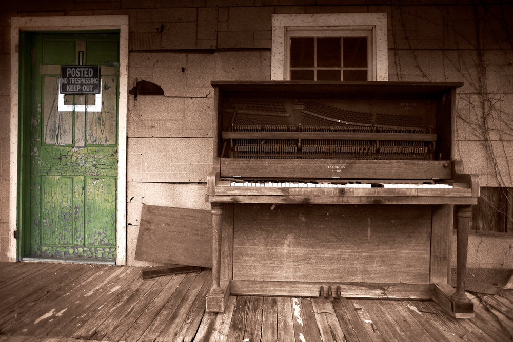 Porch Piano