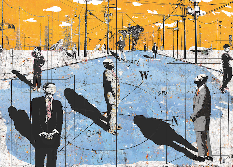 What Are We Looking For (Diptych)