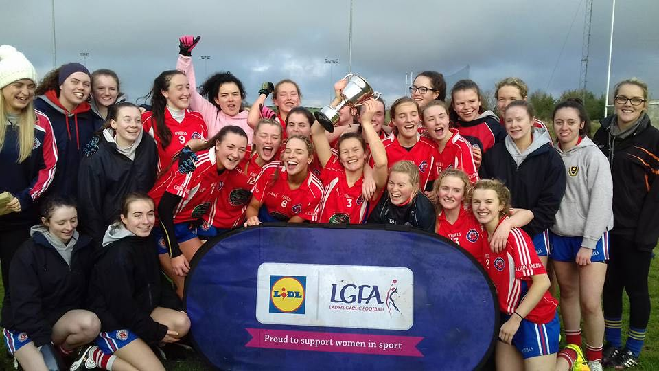 Congratulations to Scoil player Hannah Leahy and Holy Faith who won the Post Primary Schools Leinster Senior C final.