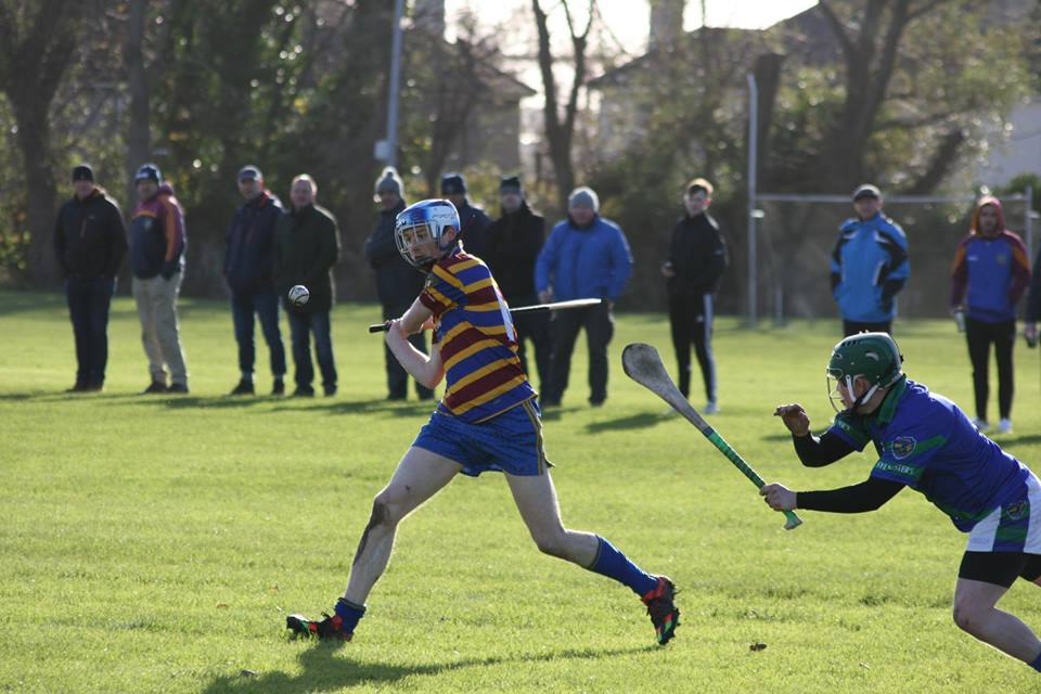 Adult hurler or should we say 'Senior hurler', fresh from Sunday's success...    Meet Mick McCloskey...
