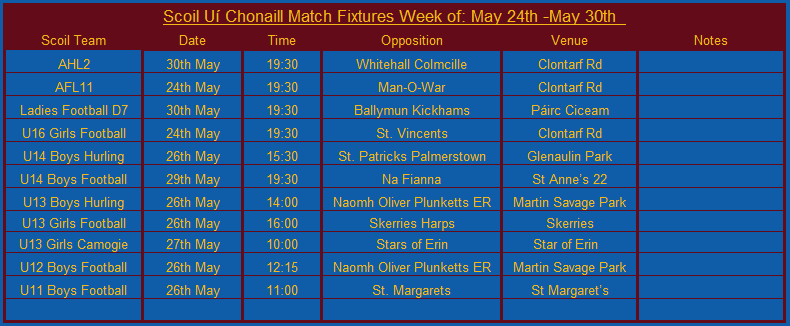 Fixtures 23rd MAy.png