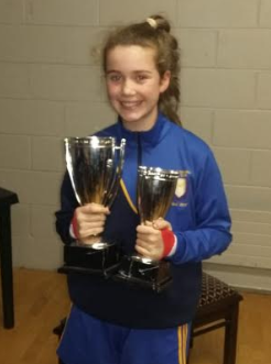 Known mainly as her father's daughter, but that's all about to change as, at 14 years old, she made her championship debut for the Ladies A team last week!