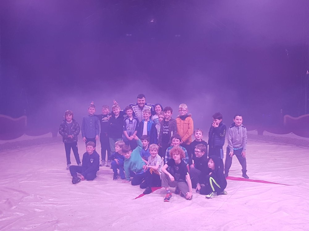 The U9s were treated to a night at the circus on Friday night!