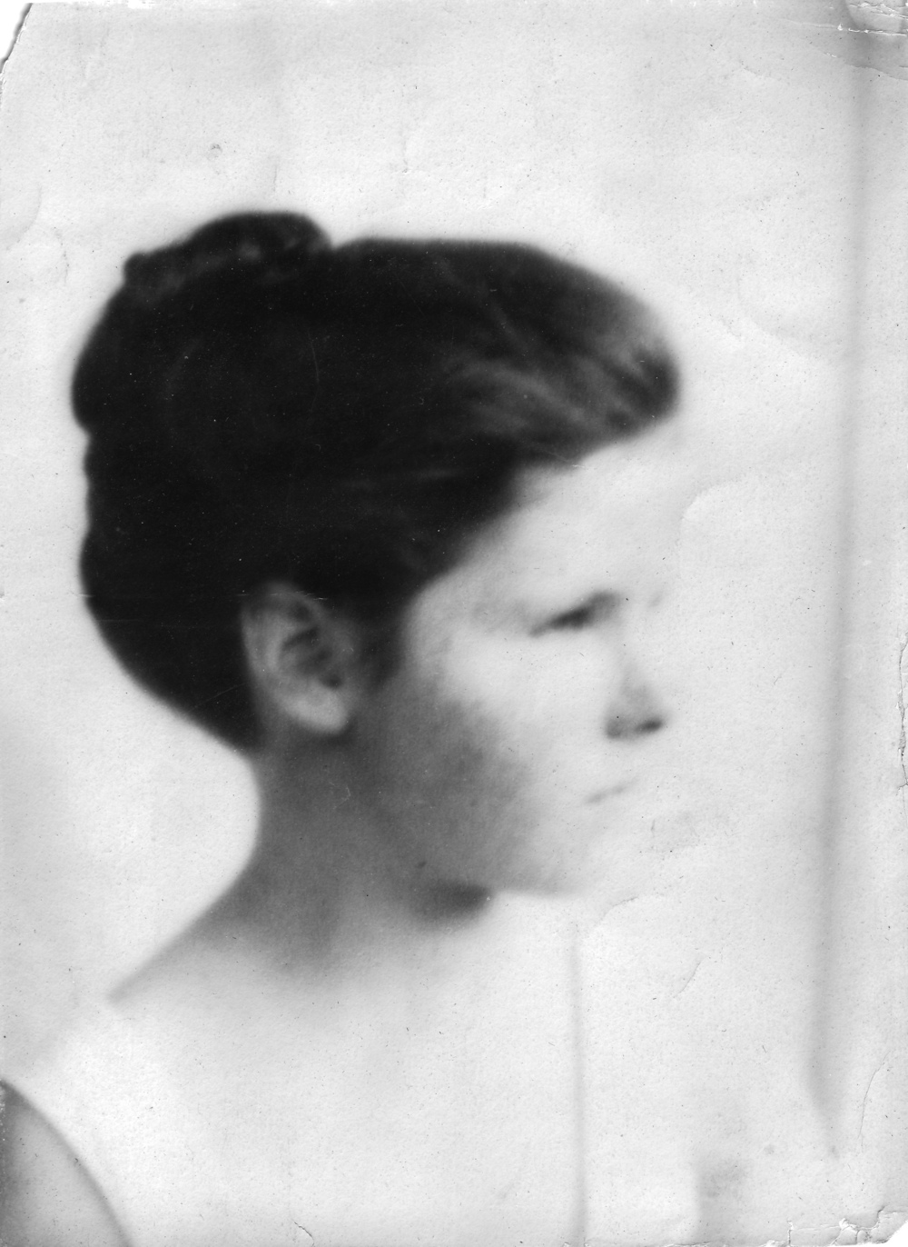 "Betty, ""taken by Grandfather about 192_"""