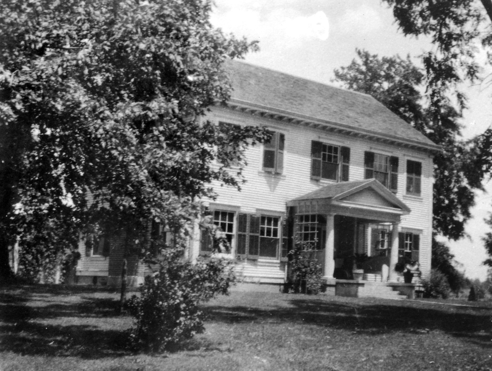 The Elms, Furnas family home in Camby, Indiana