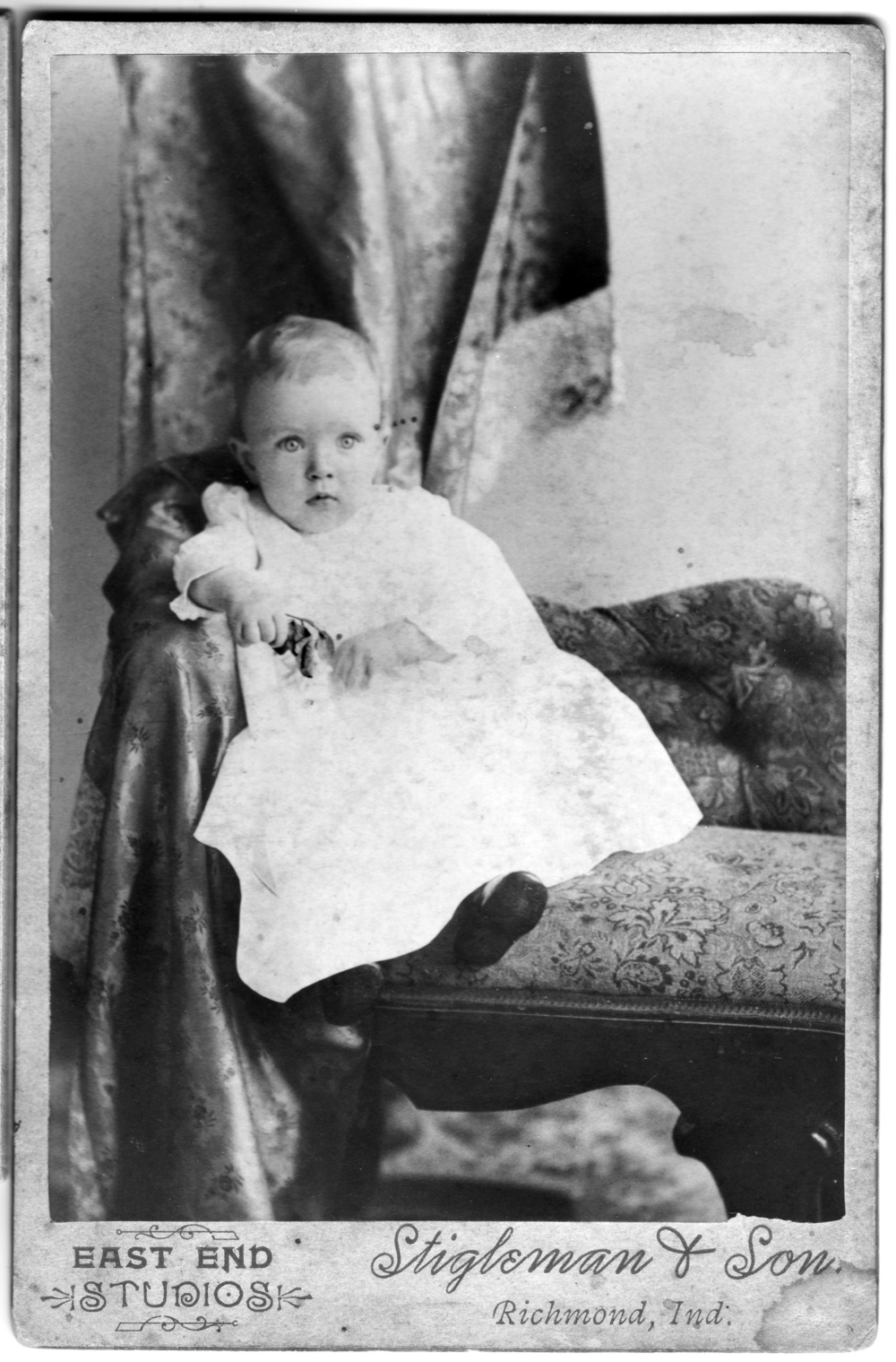 Paul J. Furnas, 11 months old, July 30, 1890