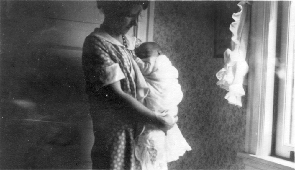 Betty and baby William Paul Furnas