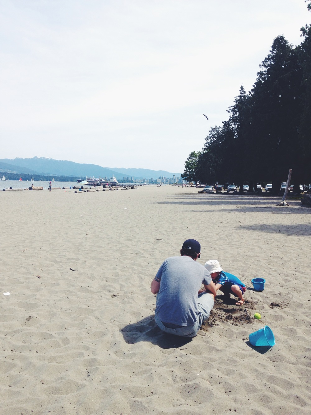 Jericho beach fun
