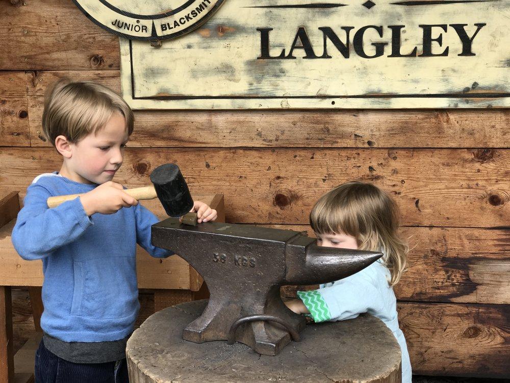 Little blacksmiths