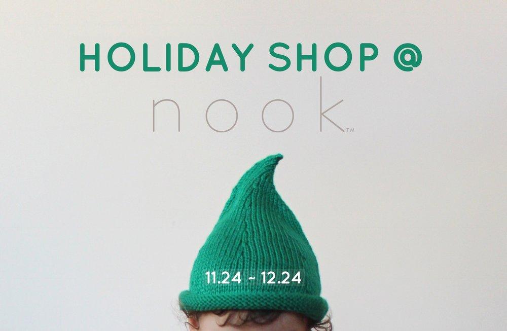 Holiday shop at nook
