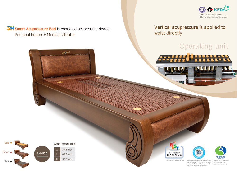 KAWAII 3H-820  / ACUPRESSURe twin BED /  MSRP $7,999