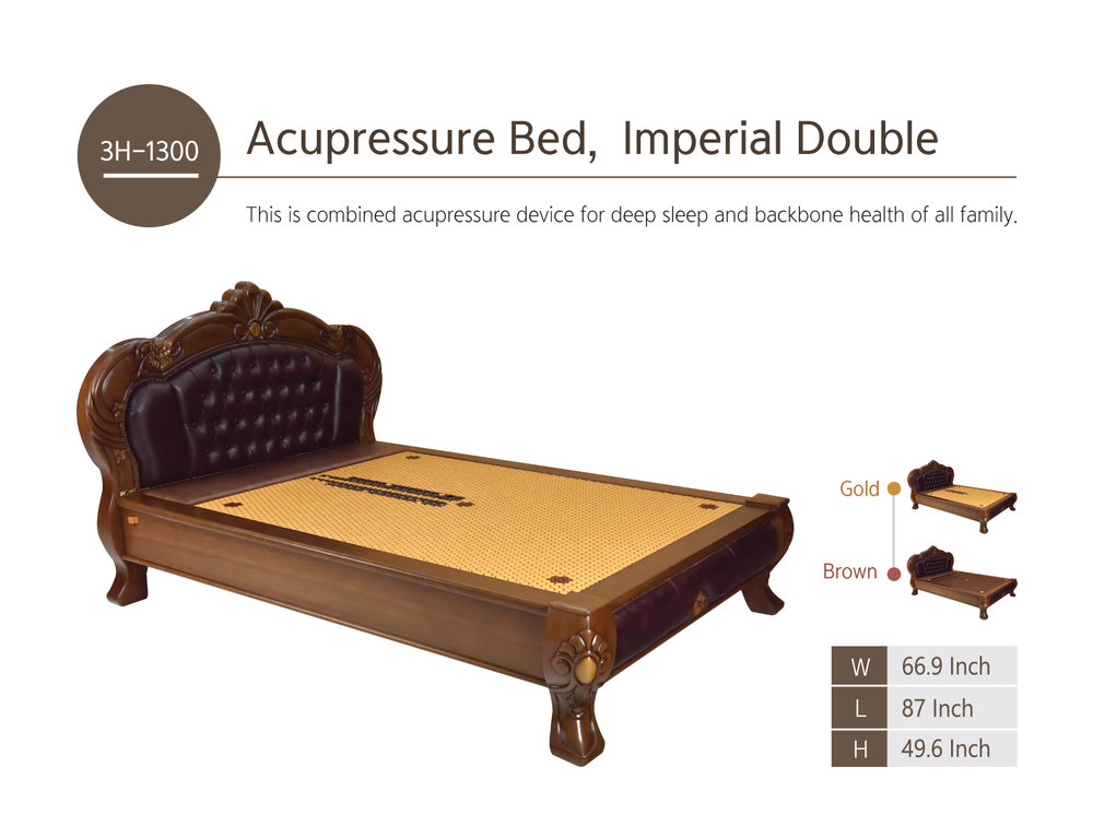 Kawaii 3h-1300  / aCUPRESSURE IMPERIAL Queen bed /  msrp $12,999