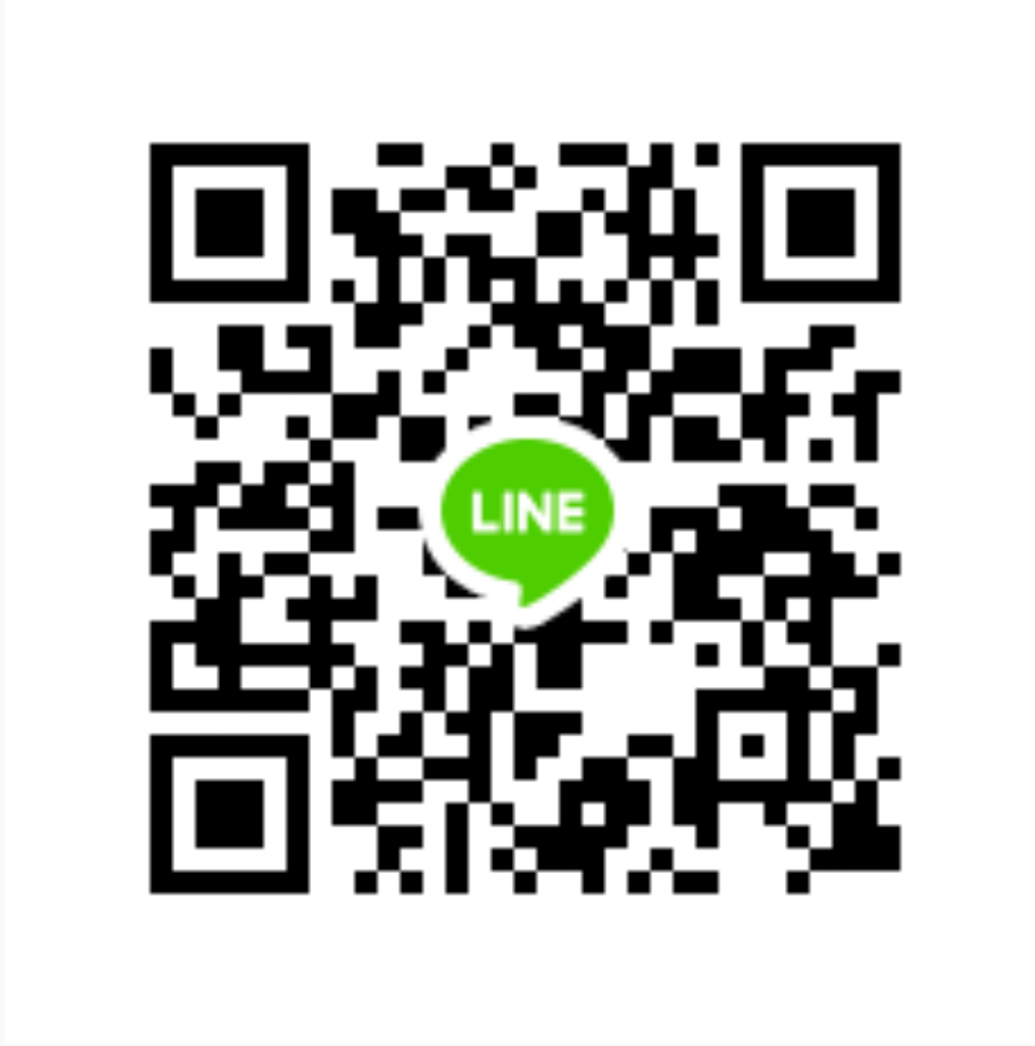 scan QR code in your Line App to Add Us
