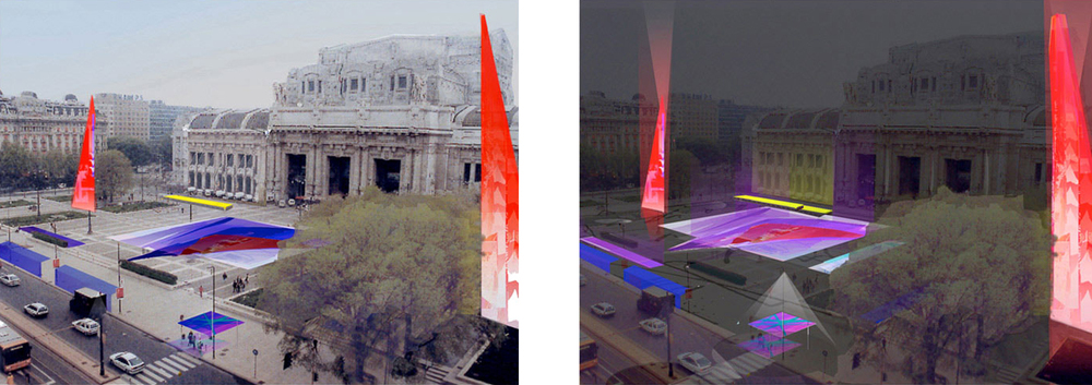 Milan Millenial Lighting Project Proposal, 2000