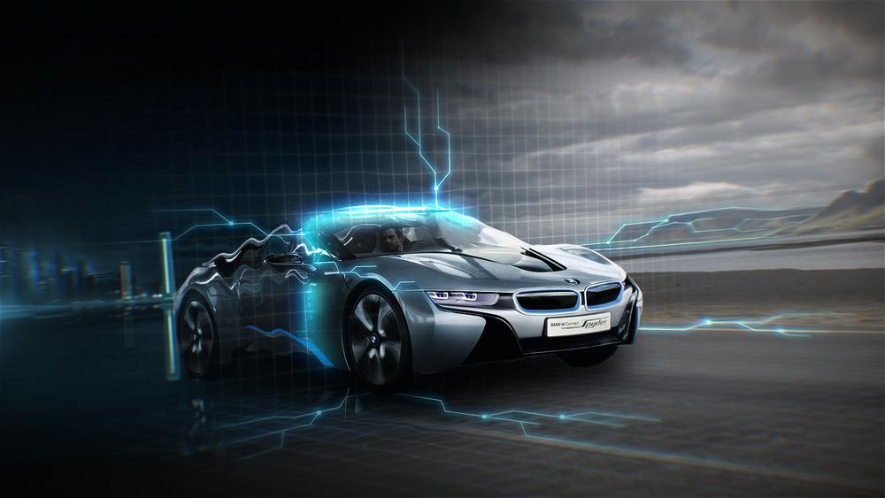 BMW i8 Styleframe - MTC 2013
