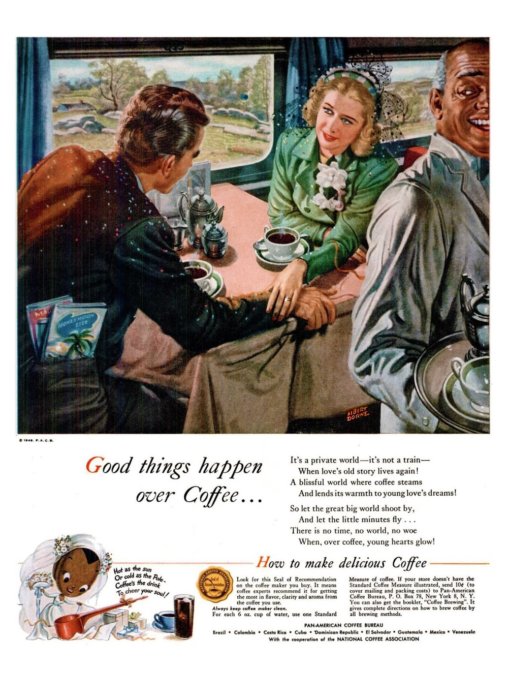 1948-7 Pan-American Coffee Bureau LIFE LIFE Jun 7, 1948 ~ Albert Dorne.jpeg