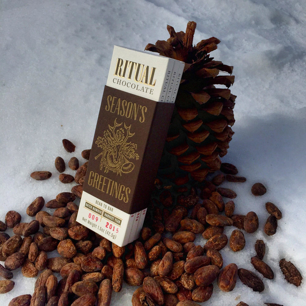Holiday Chocolate: 3-pack from Ritual Chocolate