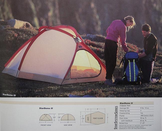 The Bill Moss StarDome III Tent