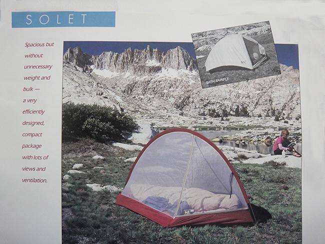 Bill Moss Solet Tent