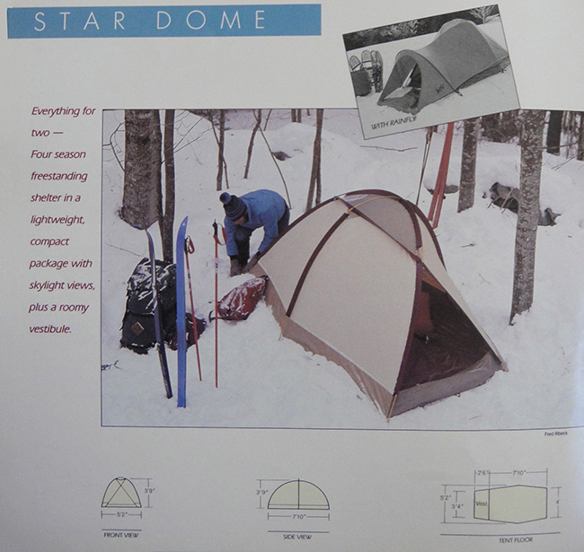 Moss Star Dome Tent