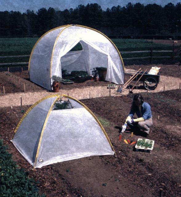 The Bill Moss Tent Greenhouse & The Bill Moss