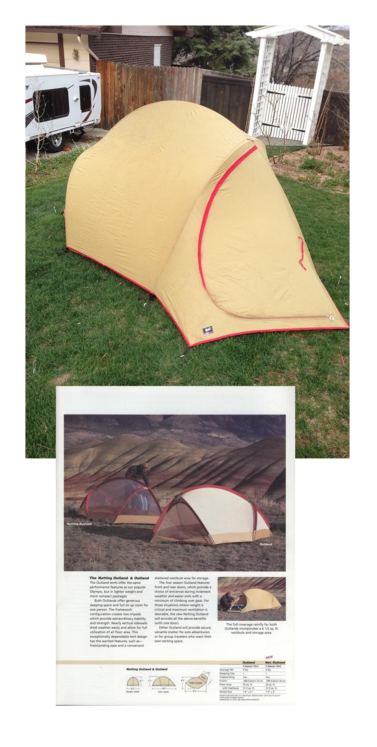 Steve's Moss Outland Tent