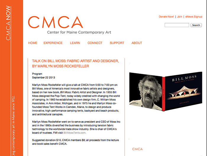 A lecture on Bill Moss at CMCA